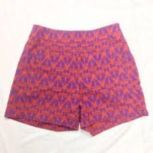 Anthropologie Cartonnier geometric print shorts